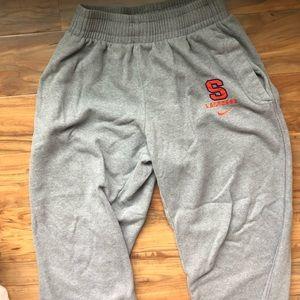 Syracuse Lacrosse Nike Sweats